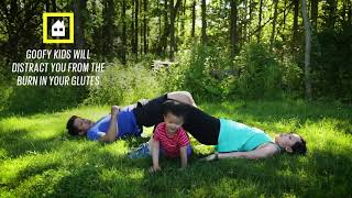 Working out with your kids at home   Family Fitness