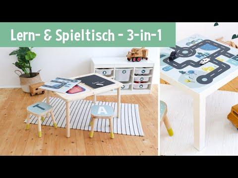 Lerntisch Spieltisch Im Kinderzimmer 3 In 1 Youtube