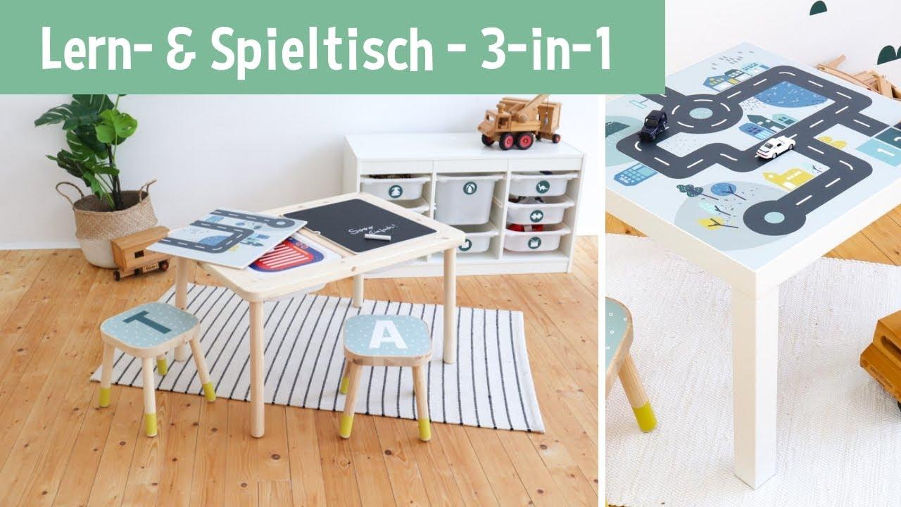 Lerntisch Spieltisch Im Kinderzimmer 3 In 1