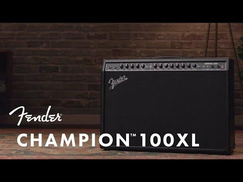 Champion 100XL Amp | Fender Amplifiers | Fender
