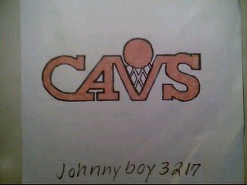 How To Draw Cleveland Cavaliers Cavs Logo Sign Symbol Emblem Easy