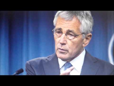 CHUCK HAGEL WAS FIRED BECAUSE HE WOULDN'T GO ALONG WITH OBAMA'S MILITARY PURGE.