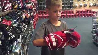Kids Hockey- Buying new skates and equipment