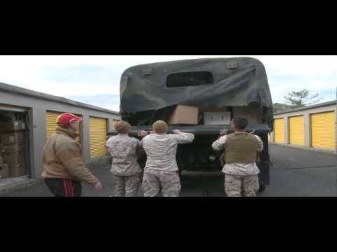 6th Motor Transportation Battalion Marines help their community after Hurricane Sandy