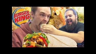 Trying the Whopperito ft. Cheetos Chicken Fries