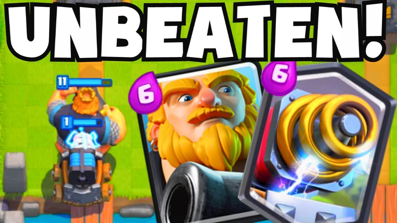 Clash royale rg sparky deck youtube for Clash royale deck arc x