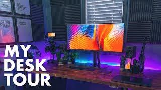 Creative HOME OFFICE Desk Setup Tour! – Graphic Designer/Photographer Workspace