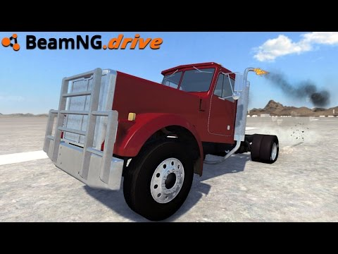 BeamNG.drive - FASTEST TRUCK 500 MPH