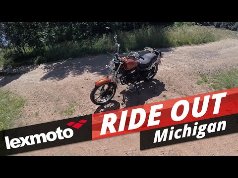 Lexmoto Michigan 125cc EFI: Ride Out