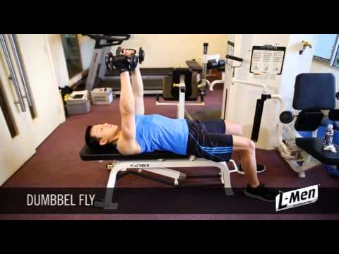 Gerakan Latihan Otot Dada - Dumbbell Fly