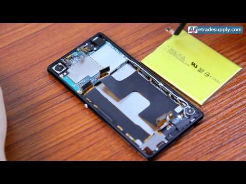 How to Replace Sony Xperia Z3 Plus Battery In 3 minutes