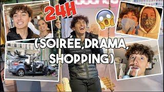 24 HEURES À PARIS: (SOIRÉE,DRAMA,SHOPPING) #VLOG