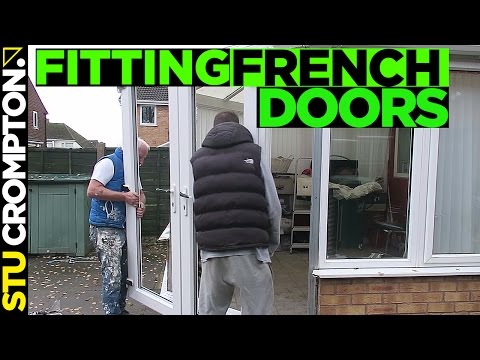 how to fit upvc french doors and getting RIPPED OFF!