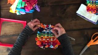 How To Finish A Recycled T-Shirt Potholder