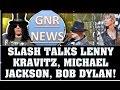 Download Guns N' Roses News: Cartoon Slash Talking About Michael Jackson, Bob Dylan, Lenny Kravitz MP3 song and Music Video