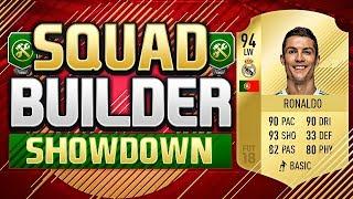FIFA 18 SQUAD BUILDER SHOWDOWN!!! CRISTIANO RONALDO!!! CR7 Squad Duel