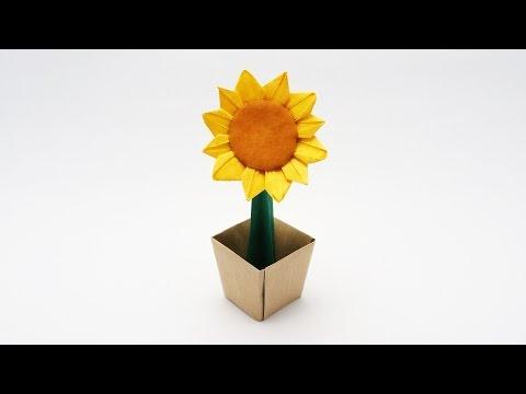 Origami Sunflower-Jo Nakashima