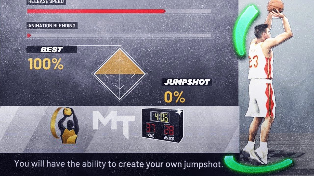 The Best Jumpshots For Every Archetype In NBA 2K19