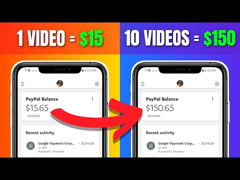 Get Paid $150 To Watch Videos 2021 (Earn FREE PayPal Money For Watching Online)
