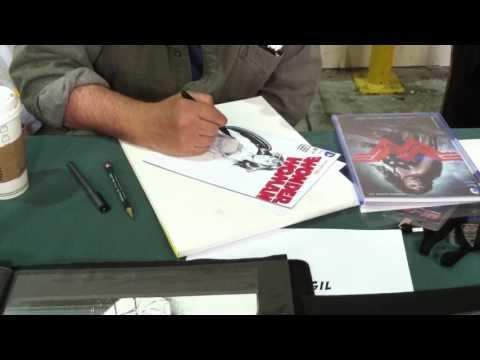 Tim Vigil draws Wonder Woman at SAC CON '16 (Pt. 4)