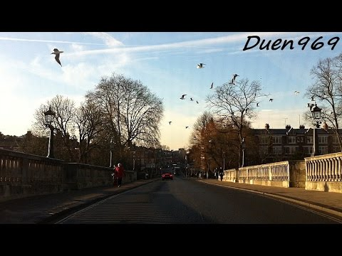 London Streets (483.) - Richmond - Twickenham - Heathrow airport
