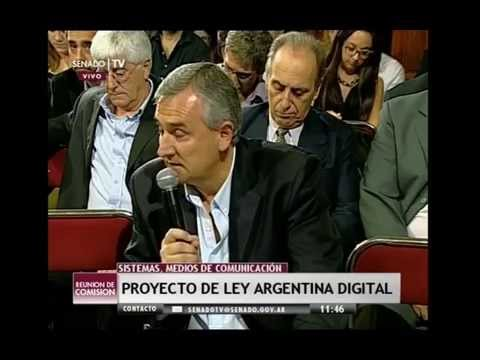Argentina Digital - Debate Morales-Telecom