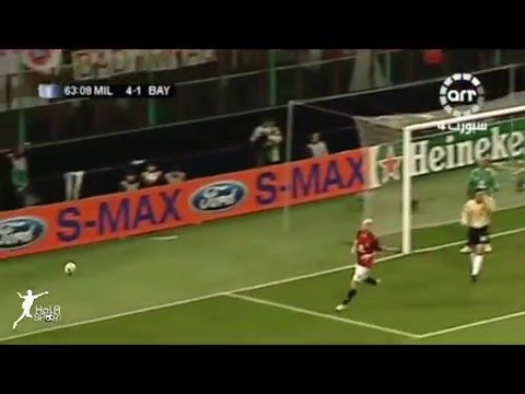 Ac Milan vs Bayern Munchin (4-1) UEFA Champions League 2006