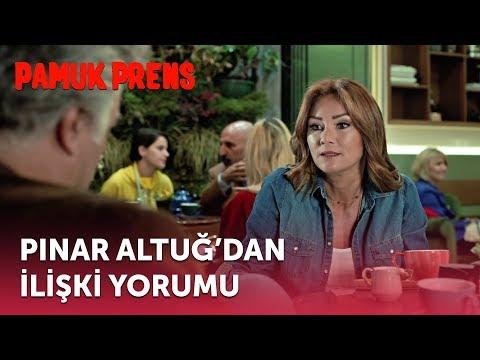Pınar Altuğ'dan İlişki Yorumu   Pamuk Prens