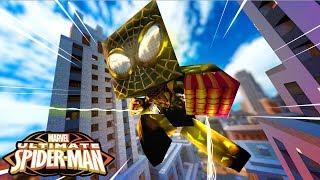 Minecraft - Homem Aranha Dourado - FINALMENTE VIREI UM HERÓI ! 2
