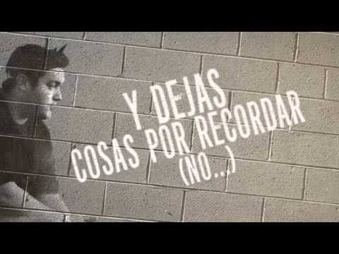 Alfred Cave ft Daniel Díaz - Cosas Por Recordar (Video Lyrics)
