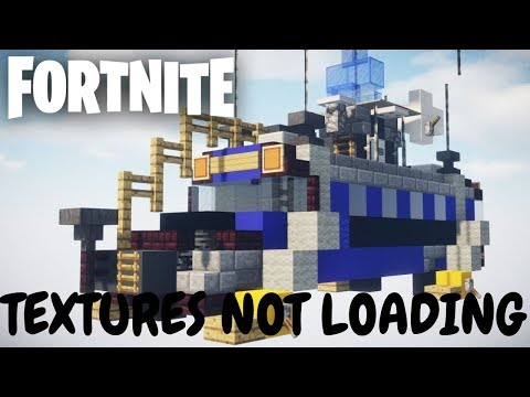 Fortnite Textures Not Loading Properly | Xbox One | Fortnite Fail On Consoles