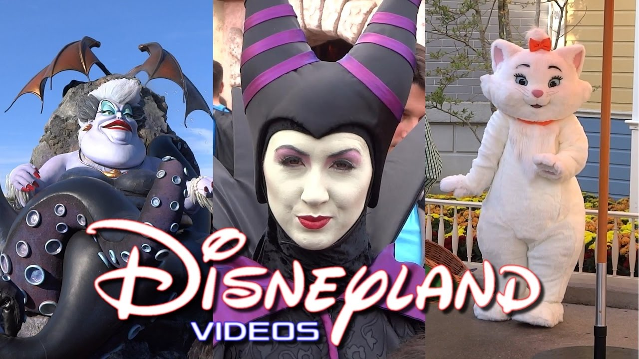 Disneyland Paris - Halloween, Maléfique, les méchants de ...