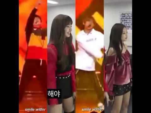 Lisa and Jennie dance Go Go - BTS YOLO YOLO