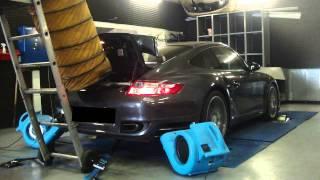 * Reprogrammation Moteur * Porsche 997 turbo 480cv @ 553cv Dyno Digiservices Paris