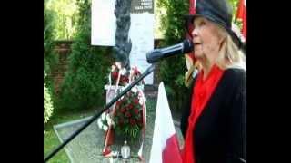 Sława Bednarczyk  w 75 rocznicę agresji Rosji na Polskę