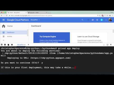 Google Cloud Platform - Python Tutorial