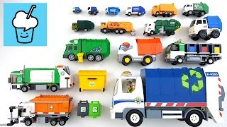 Garbage Truck for kids children with tomica トミカ VooV ブーブ 変身 Lego siku transformer playmobil thumbnail