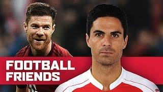 Football Friends: Mikel Arteta & Xabi Alonso