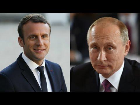 ماكرون يستقبل بوتين في مقر إقامته الصيفية جنوب فرنسا قبيل قمة مجموعة السبع  - نشر قبل 3 ساعة
