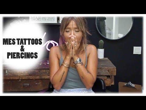 #TATOUAGES #PIERCINGS : je vous explique tout