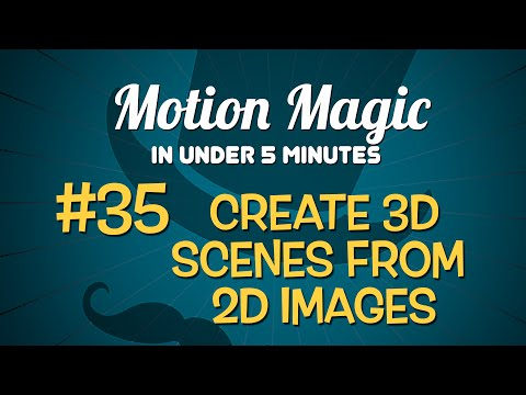 Motion Magic in Under 5 Minutes: Create 3D Scenes from 2D Images