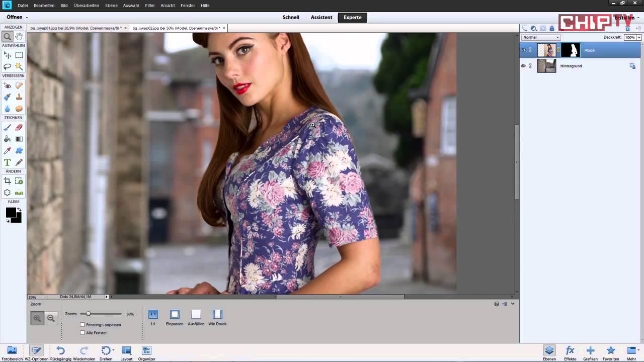 Photoshop freistellen ohne hintergrund