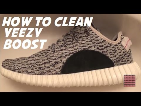 093ec68ea198 How I Clean My adidas Yeezy Boost 350 Shoes - YouTube