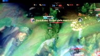 Play Video 'Escaping as Lissandra and then getting a kill in Ultra Rapid Fire.'