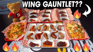 Spicy Mouth Melter Food Challenge in Memphis w/ Hot Wing Gauntlet!!