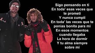 Jon Z, Enrique Iglesias - DESPUES QUE TE PERDI (Letra)