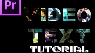 Video Text Tutorial ( Premiere Pro )