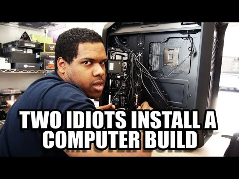 Two Idiots Build a PC Mp3