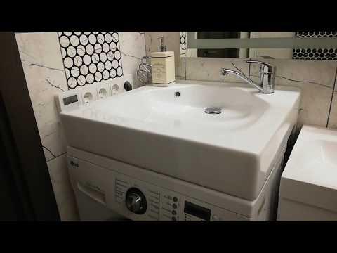 Умывальник над стиральной машиной Днепрокерамика Мистер 55