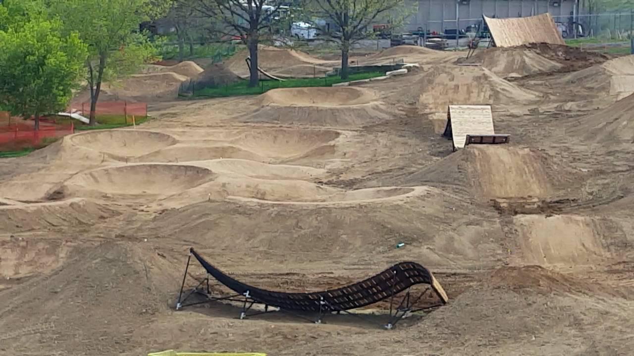 May 19th Ruby Hill Bike Park Progress Update Youtube